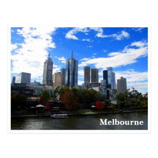 Postal horizonte del yarra de Melbourne