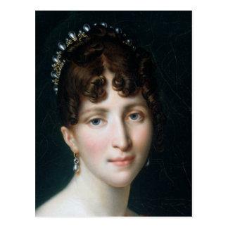 Postal Hortense de Beauharnais