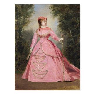 Postal Hortense Schneider 1868