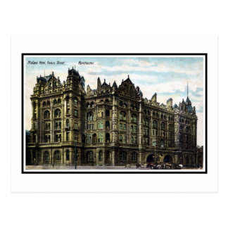 Postal Hotel 1903 de Edwardian Midland del vintage