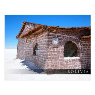 Postal Hotel de la sal de Uyuni en Bolivia