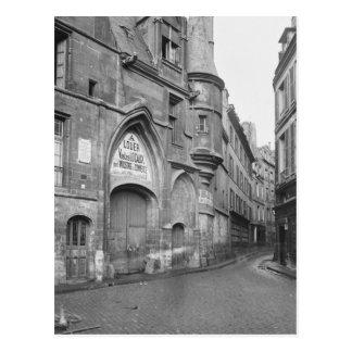 Postal Hotel de Sens, siglo-temprano de fines del siglo