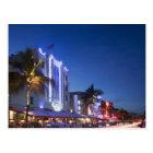 Postal Hotel del faro, impulsión del océano, Miami Beach