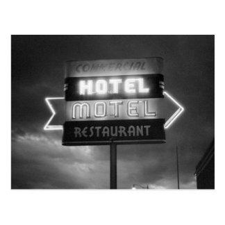 Postal Hotel Sign, 1942