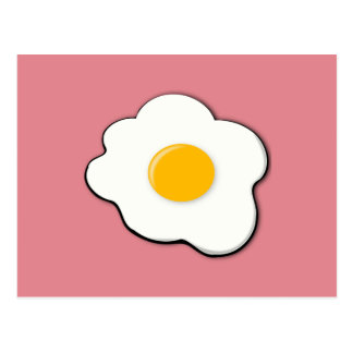Postal Huevo hermoso