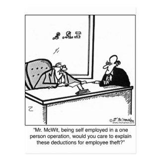 Postal Hurto independiente y del empleado