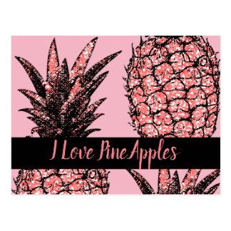 Postal I Amor PineApples