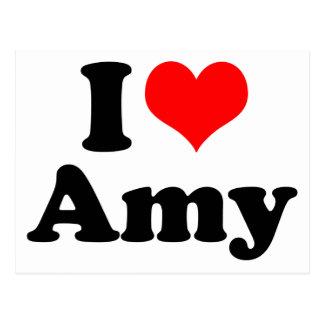 Postal I Amy del corazón/del amor