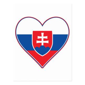 Postal I corazón Eslovaquia