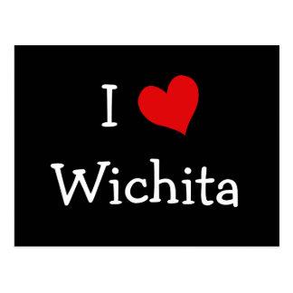Postal I corazón Wichita