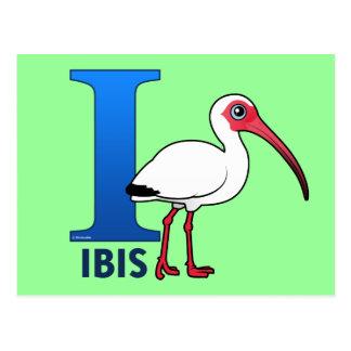Postal I está para Ibis