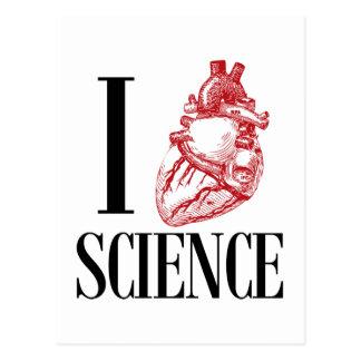 Postal I heart science