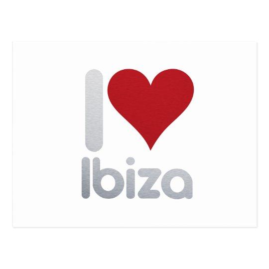 POSTAL I LOVE IBIZA