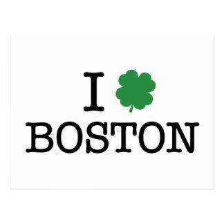 Postal I trébol Boston