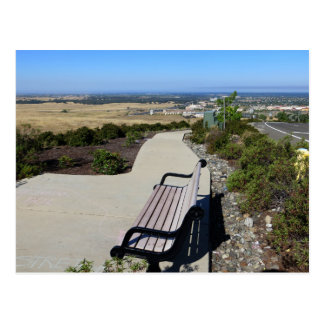 Postal Icono de Folsom: Vista del valle de Sacramento