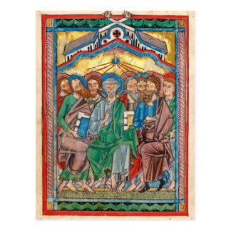 Postal Icono de Pentecost del Celtic