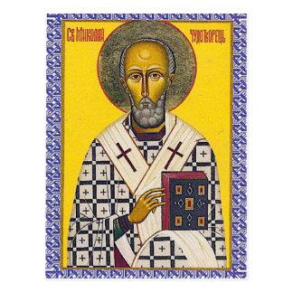 Postal Icono de San Nicolás