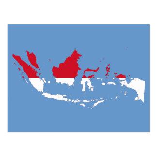 Postal Identificación de Indonesia, Jakarta, mapa de la