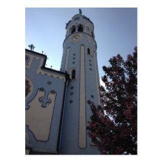 Postal Iglesia azul, Bratislava