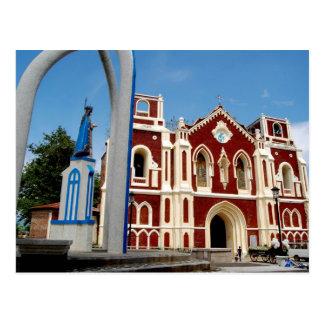 Postal Iglesia de Bantay, Ilocos Sur, Filipinas