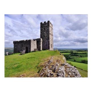Postal Iglesia de Brentor, Dartmoor - Devon