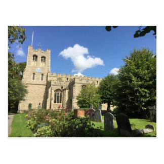 Postal Iglesia de Coggeshall, Essex