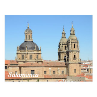 Postal Iglesia de la Clerecia, Salamanca