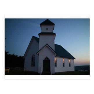 Postal Iglesia del país