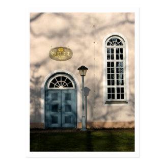 Postal Iglesia en Fischerhude