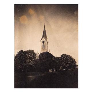 "Postal ""iluminación de la iglesia """