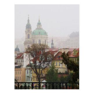Postal Imagen de Praga
