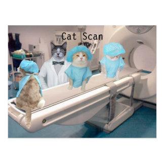 Postal Imagen divertida del TAC