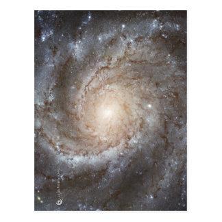 Postal Imagen galáctica de Hubble en productos de cada