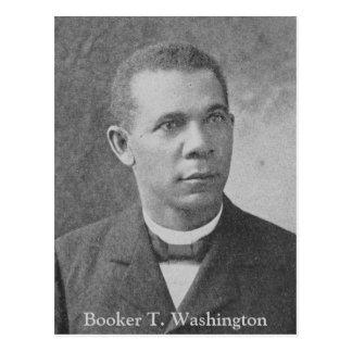 Postal Imagen negra de la historia del Booker T.