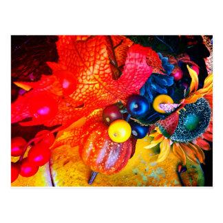 Postal impresión del otoño