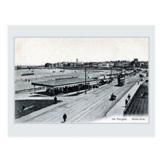 Postal Impulsión marina Margate Kent Inglaterra de los