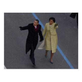 Postal Inauguración de Obama