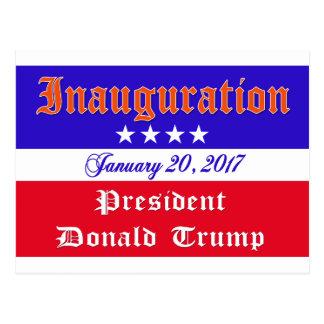 Postal Inauguración Donald Trump 20 de enero de 2017