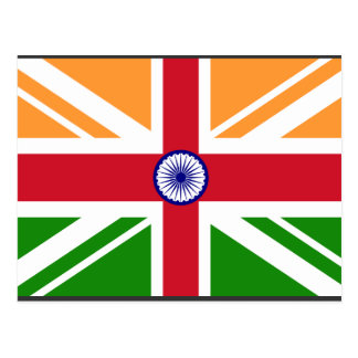 Postal Indio Anglo Indentity, la India