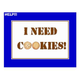 Postal ¡ineedcookies, AYUDA!!!