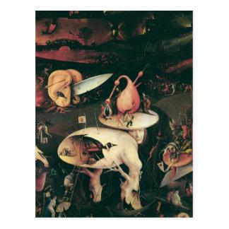 Postal Infierno. Hieronympous Bosch. 1503-1504