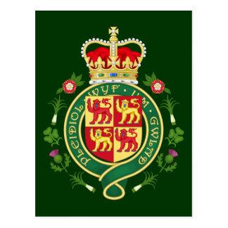 Postal Insignia real de País de Gales