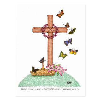 Postal inspirada renovada redimida reconciliada