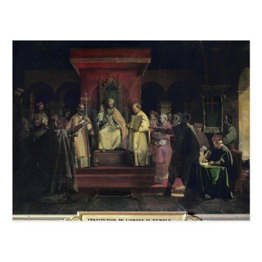 Postal Institución de la orden del Templars