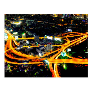 Postal Intercambio de la autopista de Sirat
