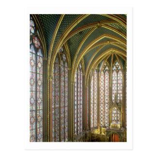 Postal Interior de la capilla superior que parece del