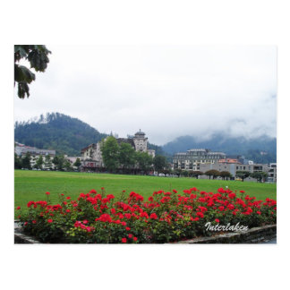 Postal Interlaken, Suiza