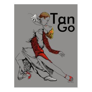 Postal Intimidad del tango