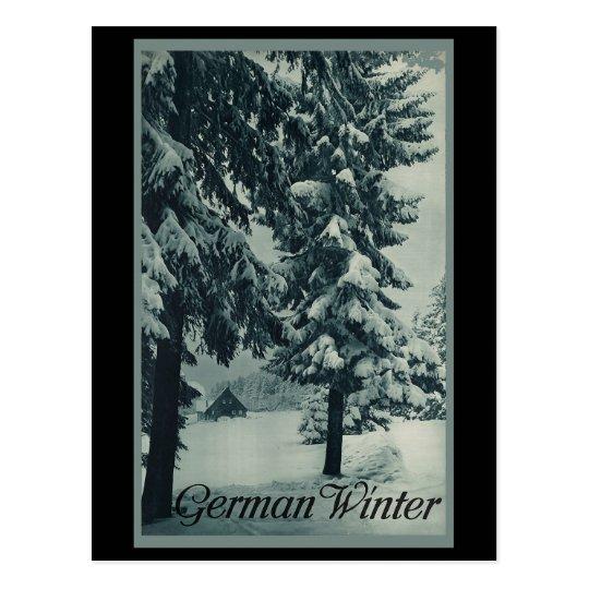 Postal Invierno alemán