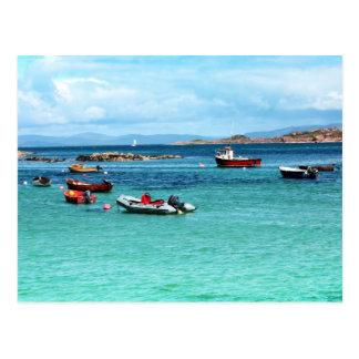 Postal Iona, isla escocesa
